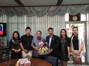 《点亮微直播》作者于智凤应邀出席中泰文化交流文化活动